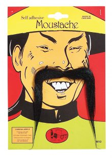 Chinese moustache