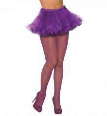 9dd64e8db Fishnet Stockings Glitter Purple