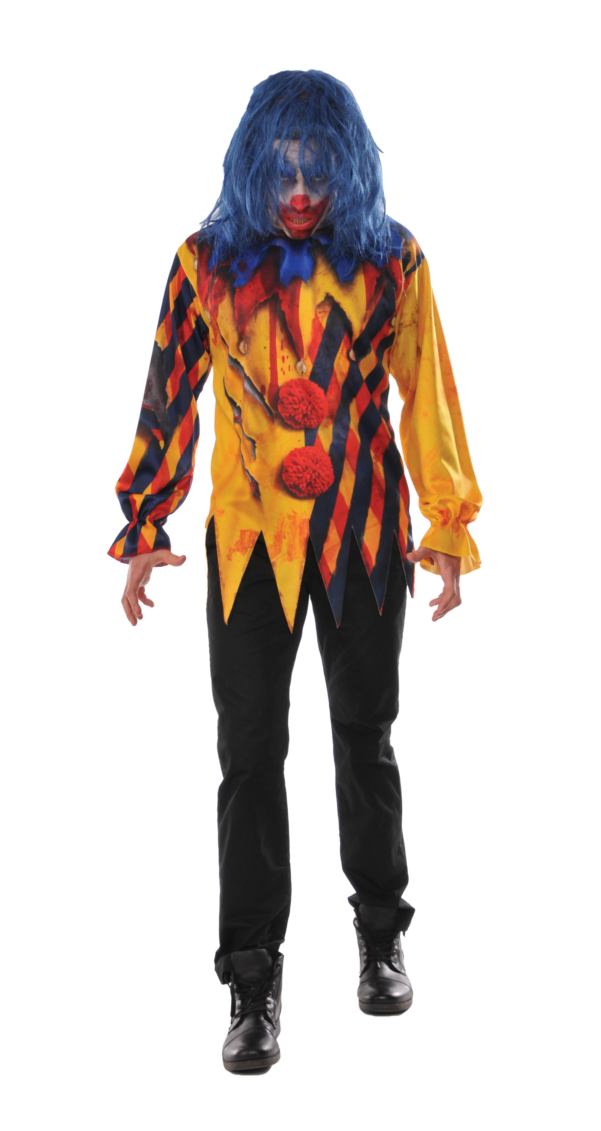 Killer Clown Halloween Costumes For Girls.The Killer Clown